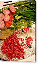 New Orleans' Red Beans And Rice Acrylic Print
