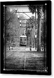 New Orleans Streetcar Acrylic Print by Jeanne  Woods