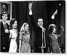 New President-elect Richard Nixon Acrylic Print by Everett