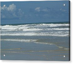New Smyrna Beach Acrylic Print by Lisa Williams