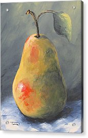 New Year Pear Acrylic Print