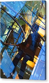 New York Apple Acrylic Print
