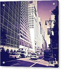 New York City Dreamscape Acrylic Print
