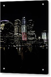 New York City Freedom Tower Acrylic Print by Paul Plaine