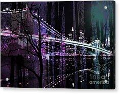 New York City II Acrylic Print by Christine Mayfield