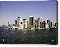 New York City Acrylic Print by Paul Plaine