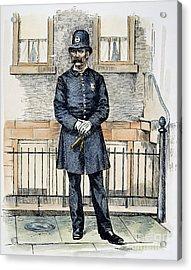 New York City Policeman Acrylic Print by Granger