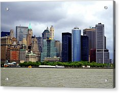 Acrylic Print featuring the photograph New York City by Pravine Chester