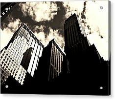 New York City Skyscrapers Acrylic Print by Vivienne Gucwa