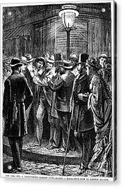 New York: Election, 1876 Acrylic Print by Granger