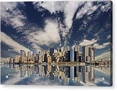 New York Acrylic Print by Marcel Schauer