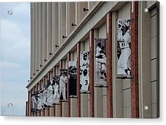New York Mets Of Old Acrylic Print by Rob Hans