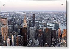Acrylic Print featuring the photograph New York by Milena Boeva