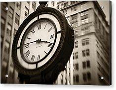 New York Minutes Acrylic Print