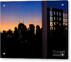 New York Reflections Acrylic Print