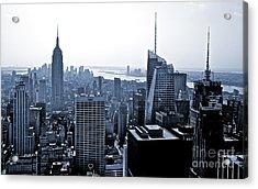 New York Skyline Acrylic Print by Thomas Splietker