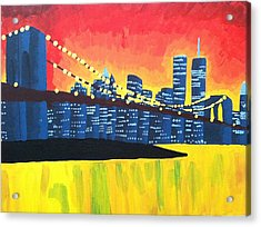 New York State Of Mind Acrylic Print by Tiffany King
