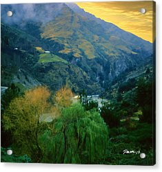 New Zealand Series - Arthur's Pass Acrylic Print by Jim Pavelle