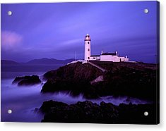 Newcastle, Co Down, Ireland Lighthouse Acrylic Print by The Irish Image Collection