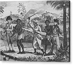 Newly Arrived African Captives Acrylic Print by Everett