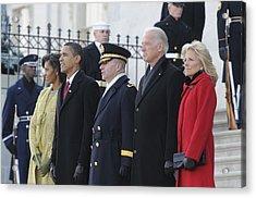 Newly Inaugurated President Obama Acrylic Print by Everett