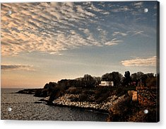 Acrylic Print featuring the photograph Newport Vibrant Morning by Nancy De Flon