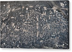 Newspaper Rock Acrylic Print