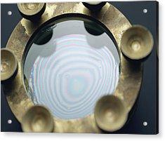 Newton's Rings Acrylic Print by Andrew Lambert Photography