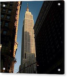 #newyorker #newyork #ny #empire Acrylic Print