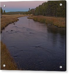 Nez Perce Creek At Yellowstone Acrylic Print