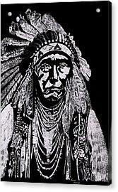 Nez Perce Acrylic Print by Jim Ross