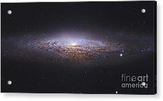 Ngc 2683, Unbarred Spiral Galaxy Acrylic Print by Robert Gendler
