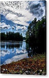 Nh Lake 2 Acrylic Print by Edward Myers