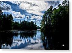 Nh Lake  Acrylic Print by Edward Myers