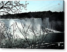 Acrylic Print featuring the photograph Niagar Falls by Pravine Chester