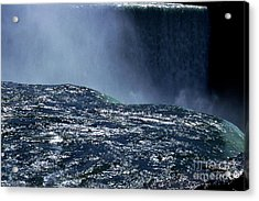 Niagara Acrylic Print by Barry Shaffer