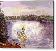 Niagara Falls Acrylic Print by Charles Shoup