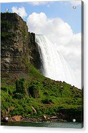 Acrylic Print featuring the photograph Niagara Falls Us Side by Mark J Seefeldt