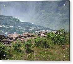 Niagara Falls Wonder Of The World Acrylic Print by J R Baldini M Photog