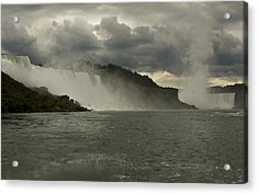 Acrylic Print featuring the photograph Niagara Power by Darleen Stry