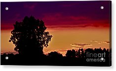 Niagra Sunset Acrylic Print