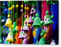 Nicaraguan Bells Acrylic Print by William Shevchuk