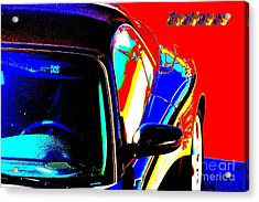 Acrylic Print featuring the mixed media Nice Car by Rogerio Mariani