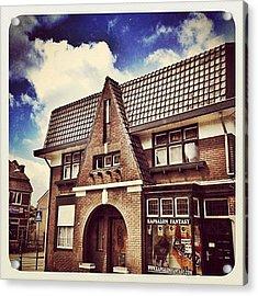 Nice Old #building In #venray Acrylic Print