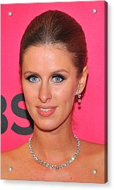 Nicky Hilton Wearing A Mouawad Necklace Acrylic Print