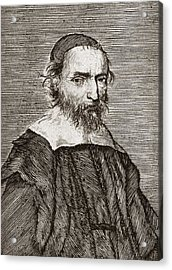 Nicolas Fabri De Peiresc, Astronomer Acrylic Print by Middle Temple Library