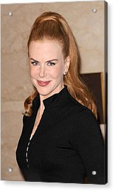 Nicole Kidman At In-store Appearance Acrylic Print by Everett
