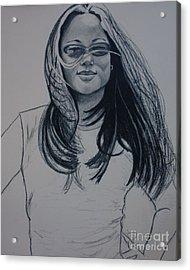 Nicole Acrylic Print
