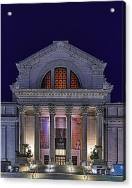 Night At The Museum Acrylic Print by Metro DC Photography