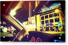 Night Driver Acrylic Print by Susan Stone